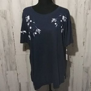 Caslon NWT short sleeved top L